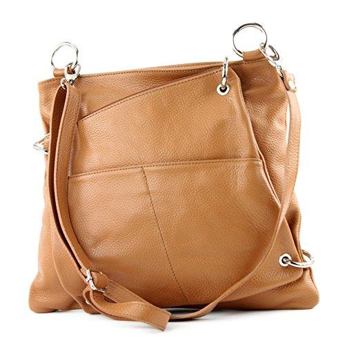 cuir de sac sac Messenger 2in1 NT07 sac ital bandoulière modamoda cuir dames en sac à Camel en 7dB7qw