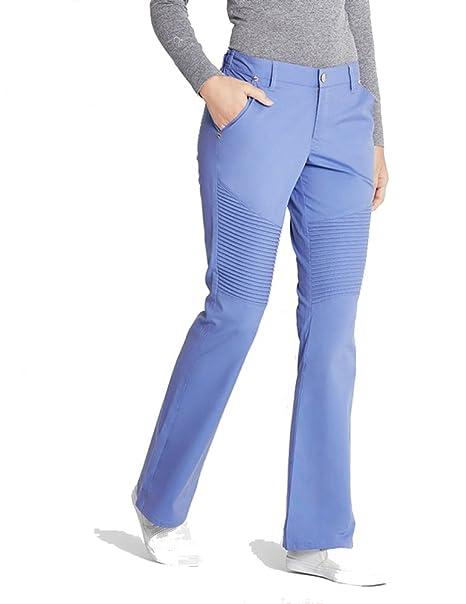 ae122e7f663 Jaanuu Woman's Pintuck Pant Scrub Bottoms: Amazon.ca: Clothing ...