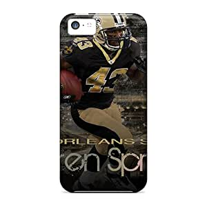 Sanp On Case Cover Protector For Iphone 5c (new Orleans Saints)