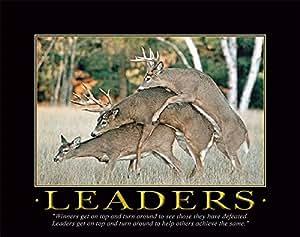 Amazon Com Whitetail Deer Motivational Poster Art Print