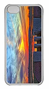 iPhone 5C Case, Personalized Custom Wetlands for iPhone 5C PC Clear Case