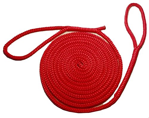Rope USA Animal Leash, Small, 6-feet, Red
