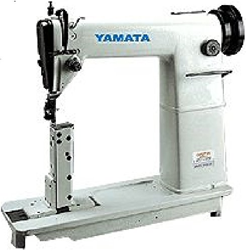 Yamata FY810 Sewing Lockstitch,Reverse,Post Bed,Roller Feed - Head ()