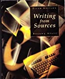 Writing from Sources, Spatt, Brenda, 0312183232