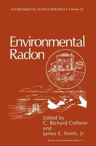 Environmental Radon (Environmental Science Research) (v. 35)