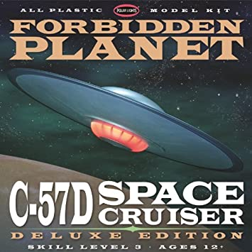 Polar Lights Forbidden Planet c-57d Deluxe Edition Modelo Kit: Amazon.es: Juguetes y juegos