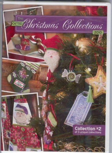 OESD Christmas Collection 2010 Embroidery Designs CD - Embroidery Designs Oesd