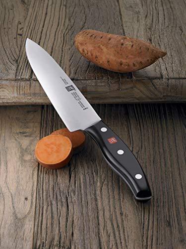 ZWILLING Messer-Set, 3-tlg., Spick-/Garniermesser, Fleischmesser, Kochmesser, Rostfreier Spezialstahl/Kunststoff-Griff, Twin Pollux