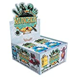 Add a boost to an all-new Munchkin experience! Every Munchkin Collectible Card Game Booster has 12 random cards, including at least one rare card, so players can build their own decks to surprise their opponents! Key Features: • 24 booster packs in e...