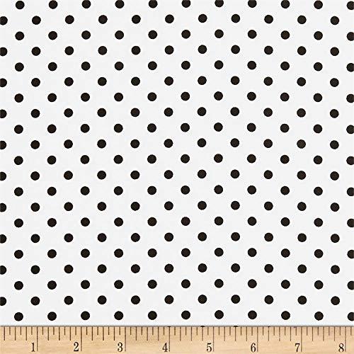 Michael Miller Dumb Dot Dalmatian Dalmation, Fabric by the Yard