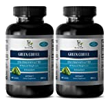 weight loss pills - GREEN COFFEE - EXTRA STRENGTH WITH GCA 800MG GCA 800MG - green coffee natures - 2 Bottles (120 Capsules)