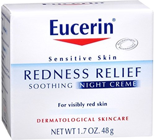 Eucerin Redness Relief Soothing Night Creme 1.70 oz (Pack...