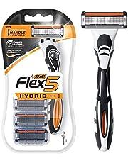 BIC Flex 5 Men's 5-Blade Disposable Razor, 3 Count 0.15 pounds
