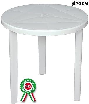 Amazon De Savino Filippo Srl Runder Tisch Mit 70 Cm Durchmesser