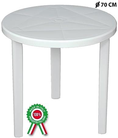 Tavolo Di Plastica Balcone.Sf Savino Filippo Tavolo Tavolino Tondo Diametro 70 Cm Milano In