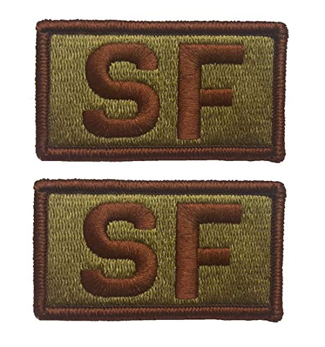 2 PACK of USAF Security Forces OCP Patch - Spice Brown - Air Force SF Patch - http://coolthings.us