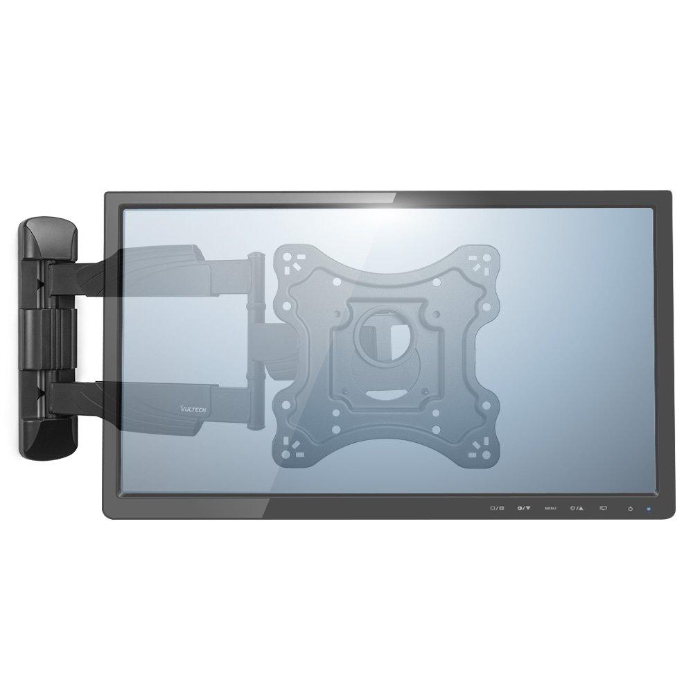 LCD e Plasma da 23 a 42 con Snodo Nero VulTech BTV-2342FCI Braccio Staffa Serie FCI per LED