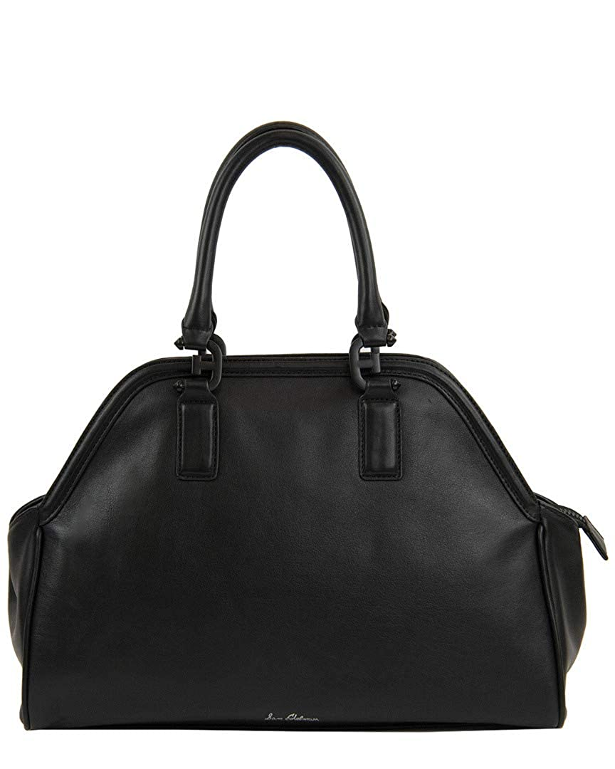 fe6a7f6b7 Amazon.com  Sam Edelman Women s Noely Bowling Bag Satchel Black One Size   Shoes
