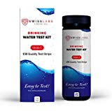 complete well water test kit - Swiss Labs 14 in 1 Drinking Water Test Kit, 150 Strips For Easy And Accurate Home Testing