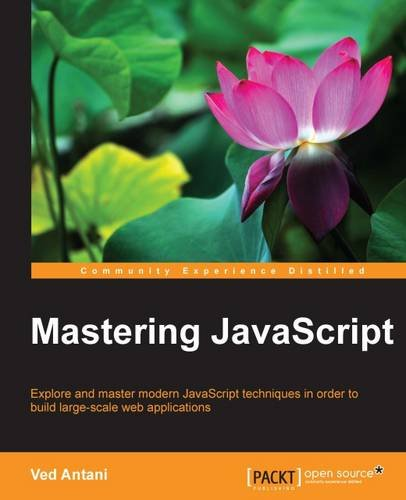 Mastering JavaScript Front Cover