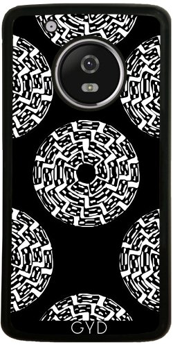Funda de silicona para Moto G5 Plus - Patrón Nativo Americano by hera56