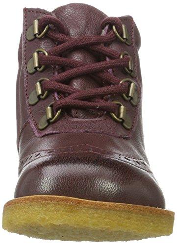 Bisgaard Unisex-Kinder Schnürschuhe Stiefel Rot (803 Plume)