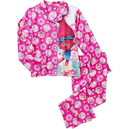 Trolls Poppy Pink Pajama Set for Girls