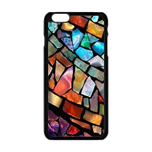 """Generic Custom Extraordinary Best Design Colorful Stained Glass Plastic Case Cover for iPhone6 Plus 5.5"""""""