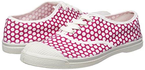 Bensimon Femme Baskets Lacet Colorspots Tennis Rose rqx0aCIMrw