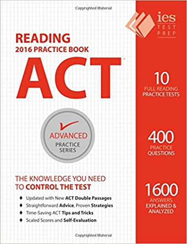 Buy Act Reading Practice Book: Volume 5 (Advanced Practice ...