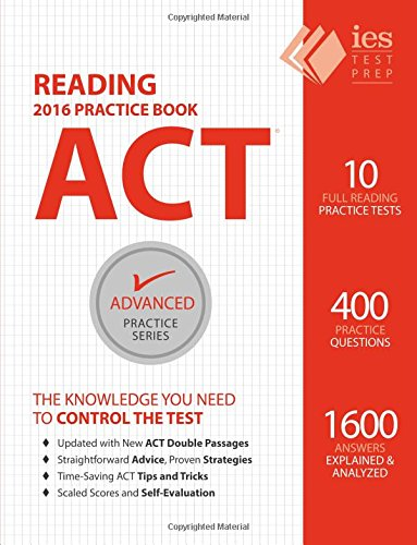 ACT Reading Practice Book Advanced product image