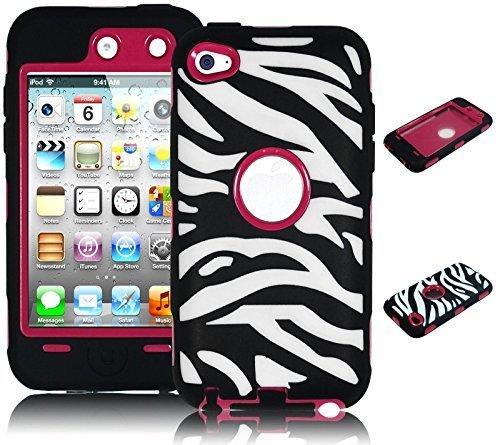 iPod Touch 4 Case, Bastex Heavy Duty Hybrid Protective Ca...