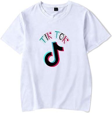 Muchacha de los Deportes TIK Tok Camiseta, Verano de la Muchacha, Camisetas de Deporte recreativo neutros, Camisetas de Aficionados a la música Camisetas (Color : #31, Size : XXXL): Amazon.es: Ropa y accesorios