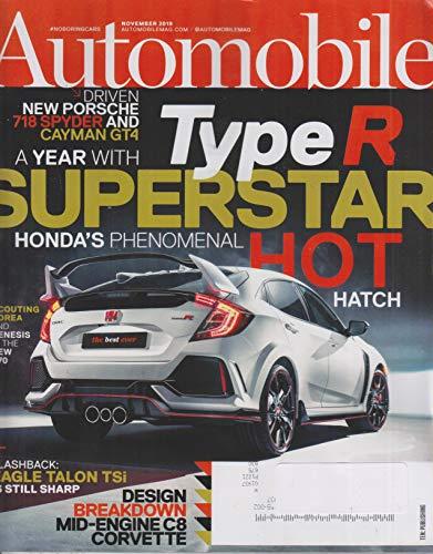 Automobile November 2019 Type R Superstar Hot Honda's Phenomenal Hot Hatch