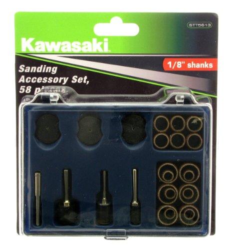 Kawasaki 841119 Rotary Sanding Kit 58 Pieces