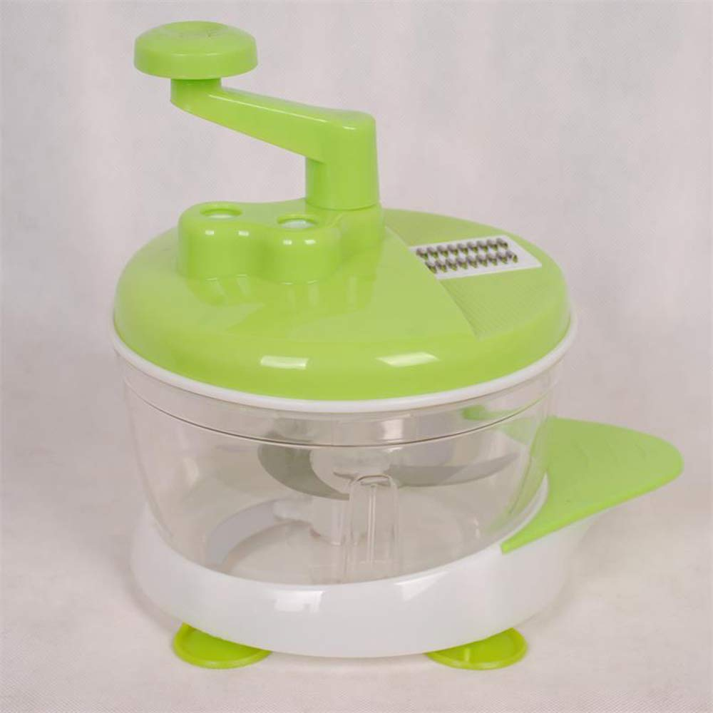 LoLa Ling Multifunction Food chopper Stainless Steel Vegetable Slicer and Vegetable Fruits Grinder 2 in 1 Kitchen Accessories