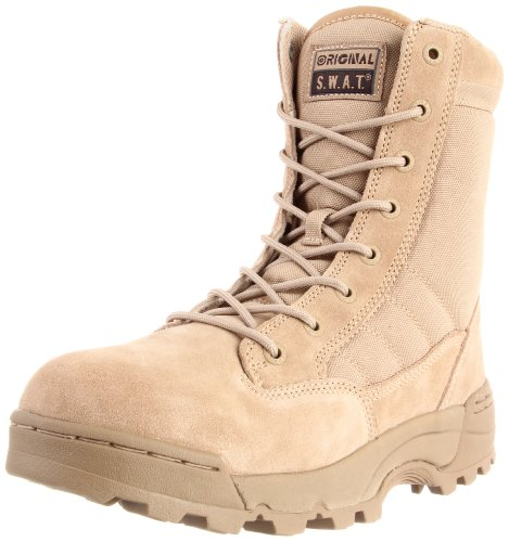 Original S.W.A.T. 115002 Classic 9 In. Mens Tan Boot Size -