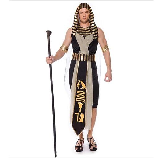 ABCDE Disfraz de Halloween Disfraces de faraón Egipcio for ...