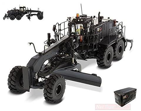 DIECAST MASTER DM85522 MOTOR GRADER CAT 18M3 BLACK 1:50 MODELLINO DIE CAST MODEL - Cat Motor Grader