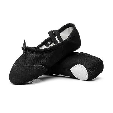 De la Mujer Classic Yoga Lienzo Ballet Zapatos de Baile ...