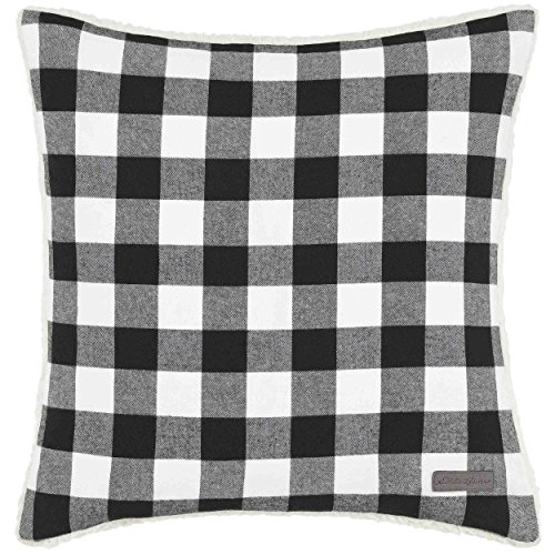 Eddie Bauer Cabin Plaid 100% Cotton Throw Pillow