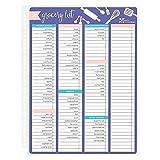 Erin Condren Snap-in Grocery List Dashboard for Erin Condren Planners (Wet Erase)