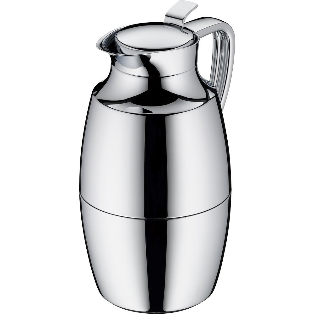 alfi Pallas Glass Vacuum Chrome Plated Brass Thermal Carafe for Hot and Cold Beverages, 1.0 L, Chrome by Alfi (Image #2)