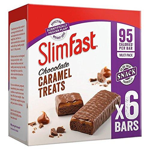 Slimfast Chocolate Caramel Treats 6 x 26g