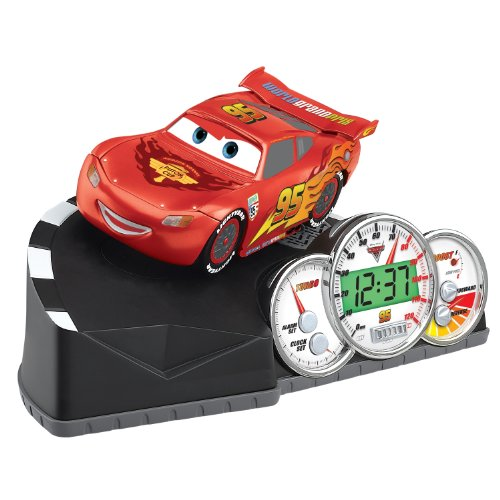 Talking Animated Alarm Clock (Cars 2 Animated Talking Alarm)