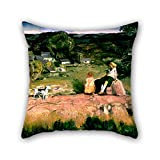 Beautifulseason 20 X 20 Inches / 50 By 50 Cm Oil Painting George Bellows - Three Children Throw Pillow Case,2 Sides Is Fit For Bf,home Theater,teens Girls,shop,seat,monther