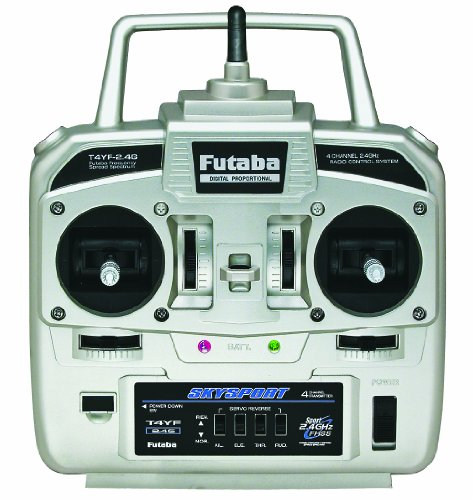 Futaba 4YF 4-Channel 2.4GHz FHSS Transmitter with R2004GF Receiver