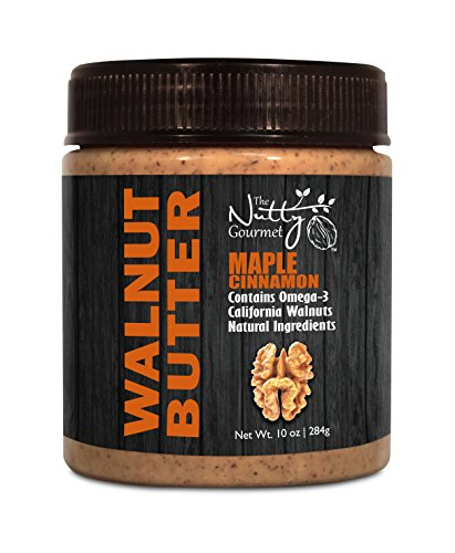 The Nutty Gourmet Walnut Butter - Maple Cinnamon, 10 oz