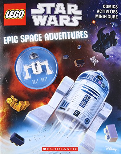 Epic Space Adventures (LEGO Star Wars: Activity Book with Figure) (Scholastic Activity Books)