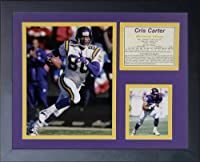 "Legends Never Die ""Cris Carter"" Framed Photo Collage, 11 x 14-Inch"